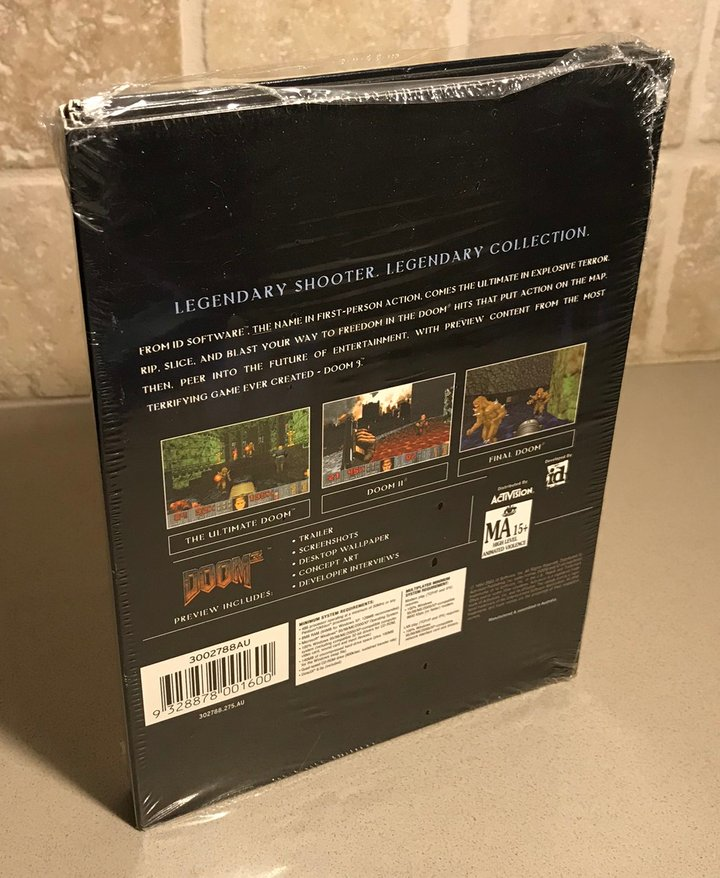 Doom Collector's Edition for PC - Back